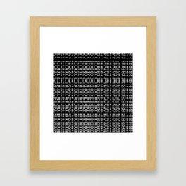 block chain Framed Art Print
