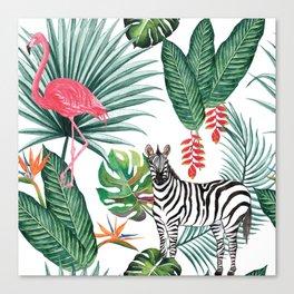 Nature Zebre pattern Canvas Print
