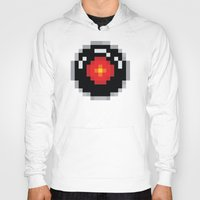 2001 Hoodies featuring 2001: A Pixel Odyssey by Eric A. Palmer