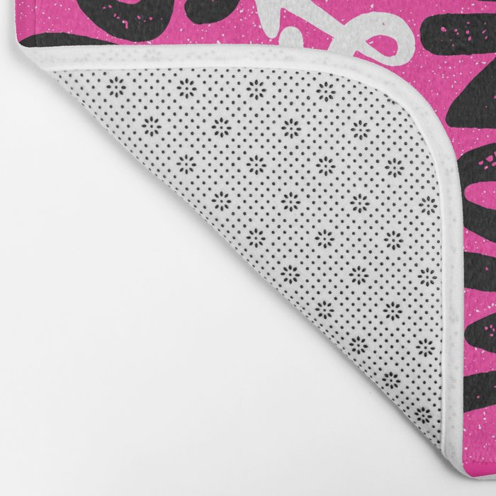 GIRLS JUST WANNA HAVE FUN Bath Mat