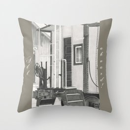 All aboard! Throw Pillow