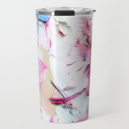 Pinky Swear (Abstract Paint Photograph) Travel Mug