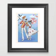 A Jolly Nightmare Framed Art Print