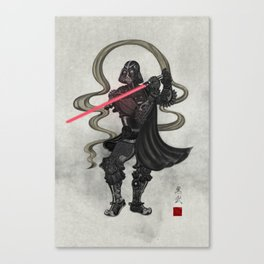 Darth Samurai Canvas Print