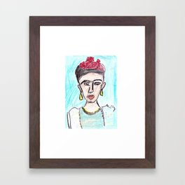 Frida ByHissa Framed Art Print