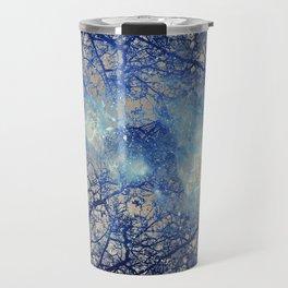 Winter Wood Travel Mug