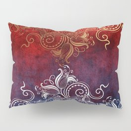 Mandala - Fire & Ice Pillow Sham