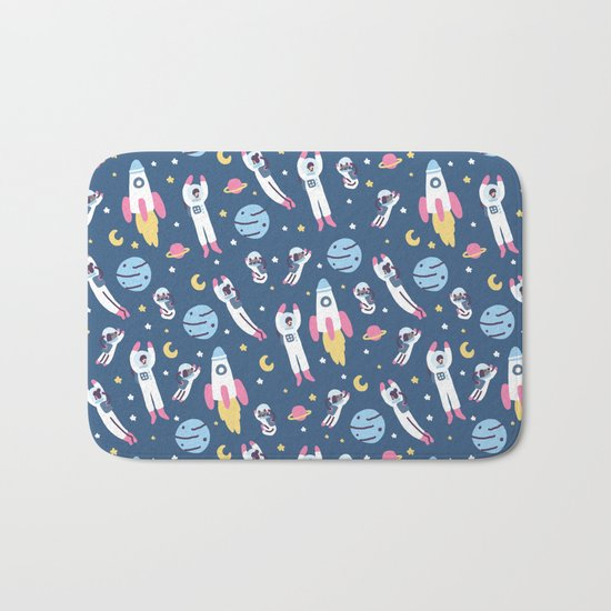 Space People Bath Mat