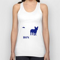 bonjour Tank Tops featuring Bonjour by Laura Maria Designs