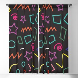 Misc shapes Blackout Curtain