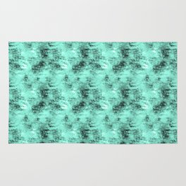Patched Teal Waters Rug