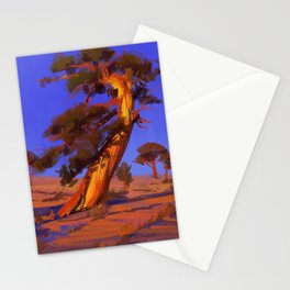 Golden Juniper Stationery Cards