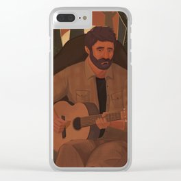 Joel (The Last of Us) Clear iPhone Case