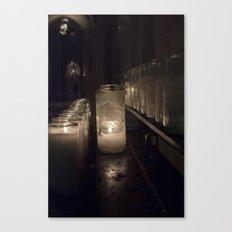Light a candle, Say a prayer. Canvas Print