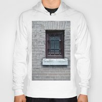 window Hoodies featuring Window by Marieken