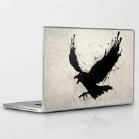 raven Laptop & iPad Skins featuring Raven by Nicklas Gustafsson