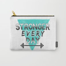 Stronger Every Day (barbell) Carry-All Pouch