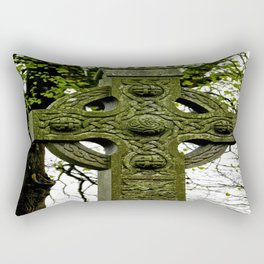 Celtic Cross at Monasterboice Rectangular Pillow