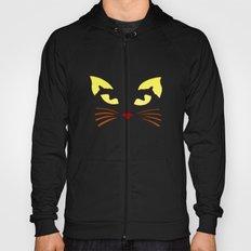 Black Cat at Night Hoody