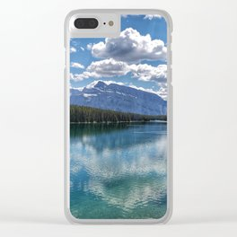 Sunday Reflections Clear iPhone Case