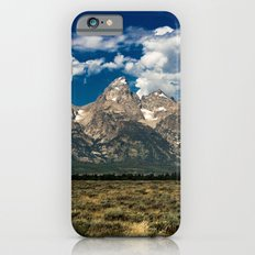 Adventure Mountain Trees Nature Travel Landscape Photography Wall Tapestry The Grand Tetons Slim Case iPhone 6s