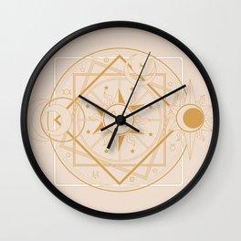 White Magic Wall Clock