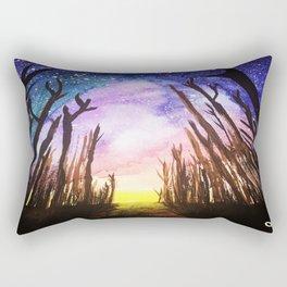 Twilight Woods Rectangular Pillow