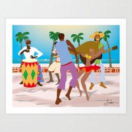 Dance Holiday! Art Print