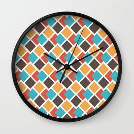Geometric art deco Wall Clock