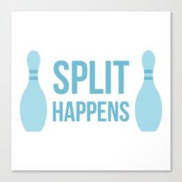 Split Happens Canvas Print