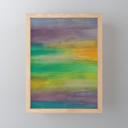 Ocean Sunset Series 1 Framed Mini Art Print