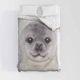 Baby Seal - Colorful Comforters