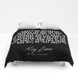 33  | Ray Lewis Quotes 190511 Comforters