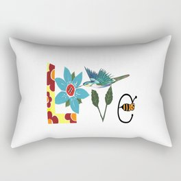 L Is For Love Rectangular Pillow