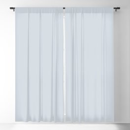 Solid pale ice gray for mix & match in our ice gray / white collection Blackout Curtain