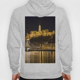 Budapest Chain Bridge And Castle Hoody