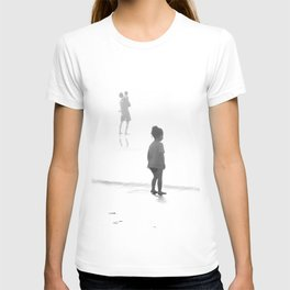Children Looking at the Sea T-shirt