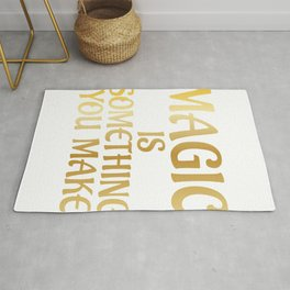 Science Magic Is Something You Make Scientist Rug