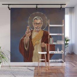 Saint Jeff of Goldblum Wall Mural