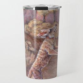 Lone Coyote Travel Mug