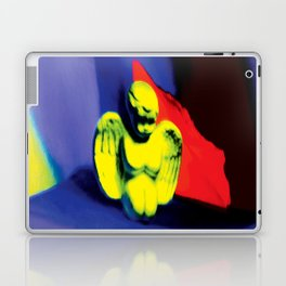 Lamentation in Blue, Yellow, and Orange Laptop & iPad Skin