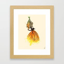Bookworm Metamorphosis Framed Art Print