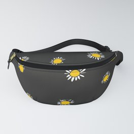 Miss Daisies in black Fanny Pack