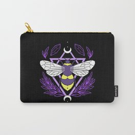 Bee Queen Carry-All Pouch