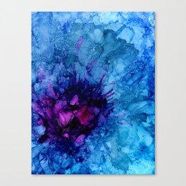 Amethyst Freeze Canvas Print