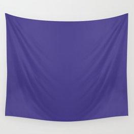 Dark Slate Blue Wall Tapestry