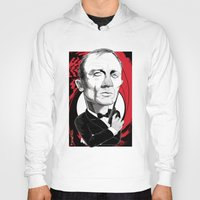 bond Hoodies featuring James Bond by drawgood