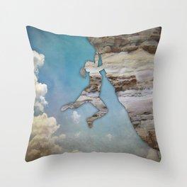 Climb On II Throw Pillow