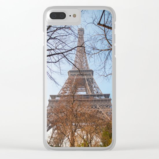 Eiffel Tower in Paris Clear iPhone Case