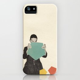 Discovering New Shapes iPhone Case